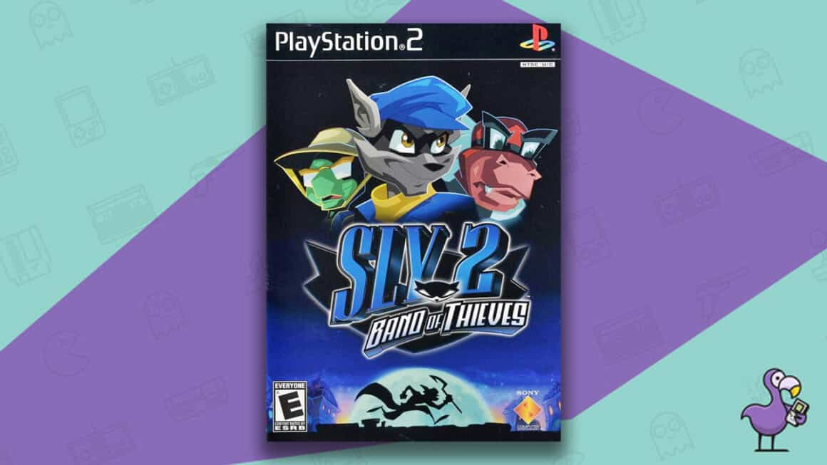 Best PS2 Games - Sly 2 Band of Thieves game case cover art
