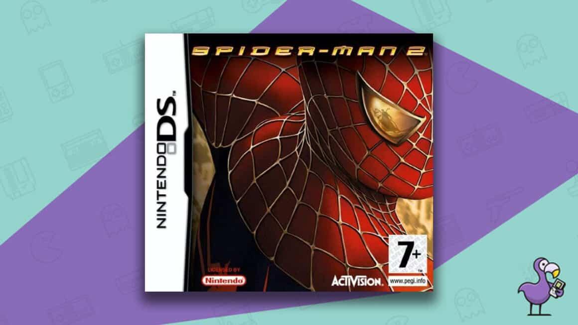 Best Nintendo DS Games - Spider-Man 2 Game Case