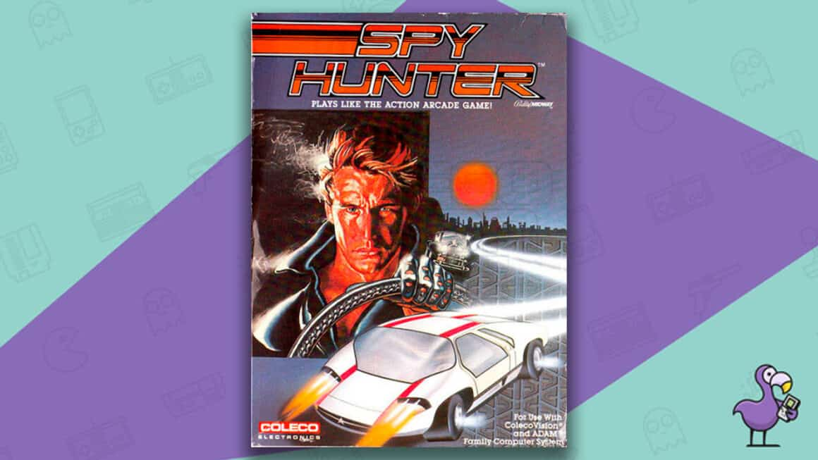 Best Colecovision Games - Spy Hunter game case cover art