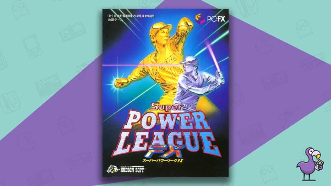 Best PC FX Games - Super Power League FX game case