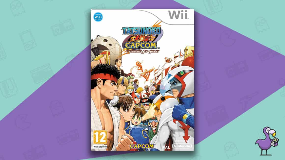 Best Nintendo Wii Games - Tatsunoko vs Capcom: Ultimate All Stars game case