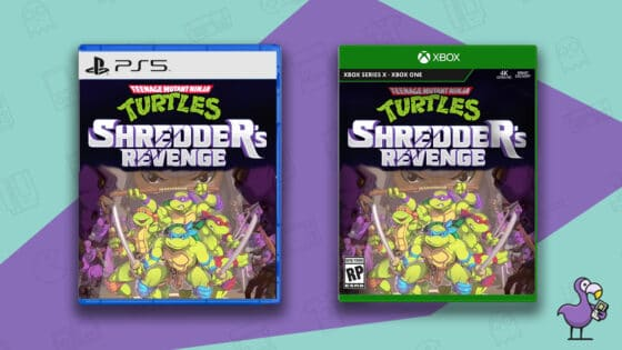 New Teenage Mutant Ninja Turtles Game Case for Xbox and PS5