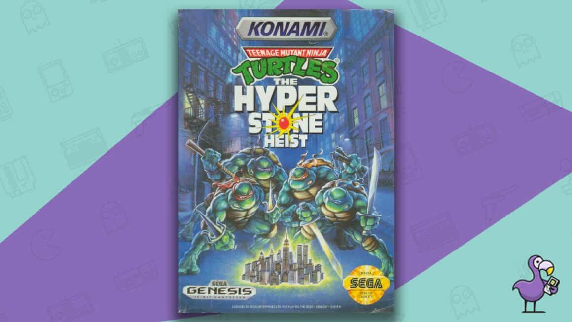 Best Sega Genesis Games - TMNT: The Hyperstone Heist