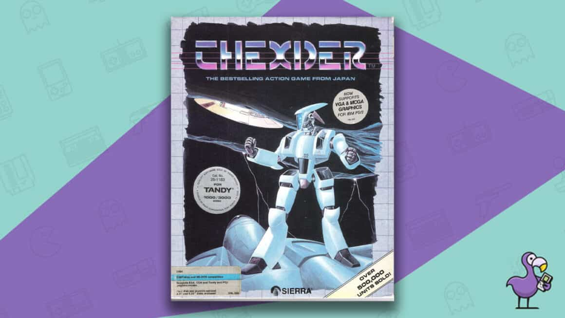 Best PC 98 games - Thexder Game Case Cover Art