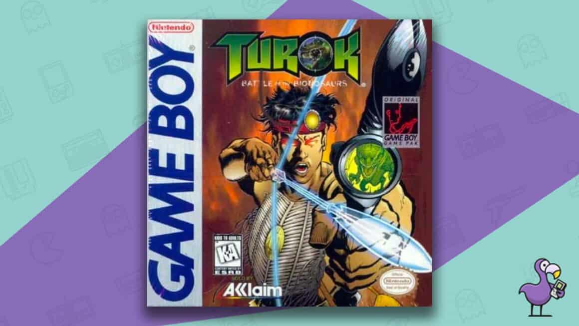 Best Gameboy Games - Turok: Battle of the Binosaurs