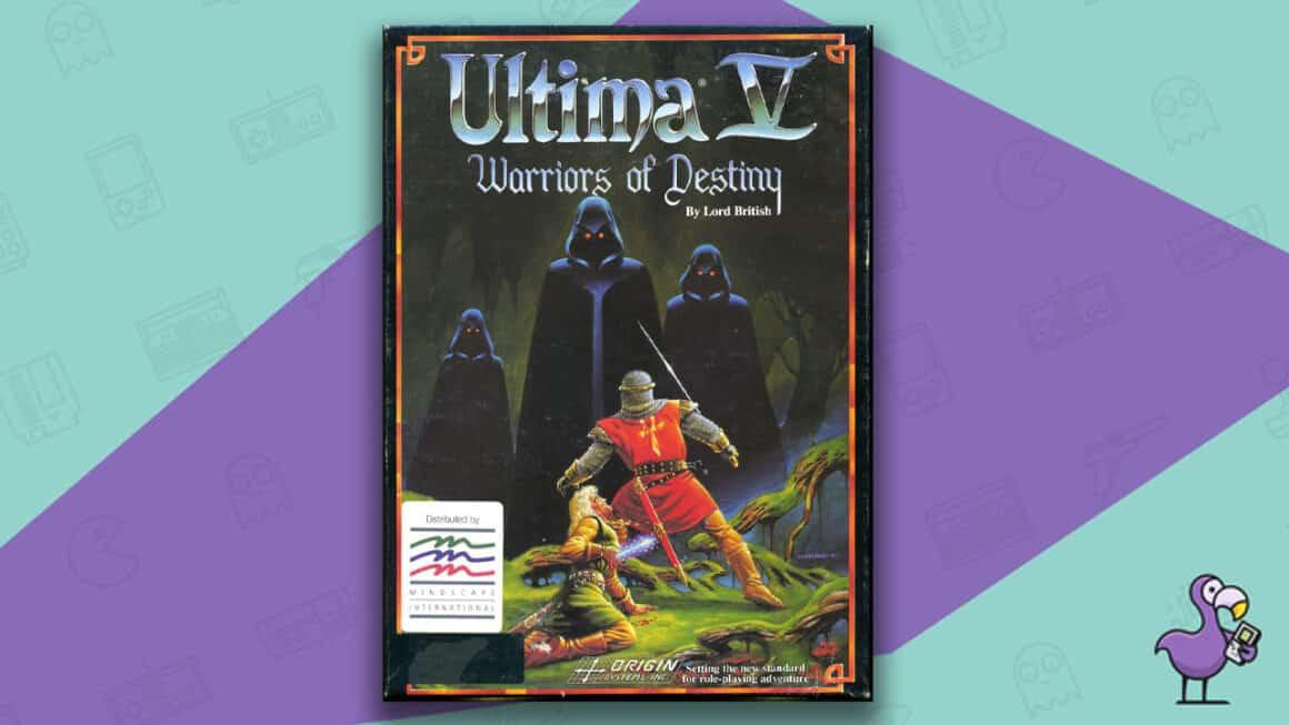 Best PC 98 games - Ultima V: warriors of destiny game case