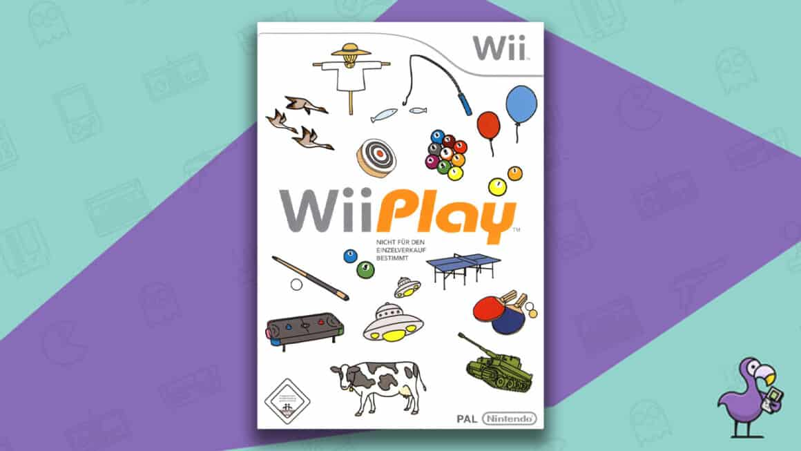 Best Nintendo Wii Games - Wii Play Game Case