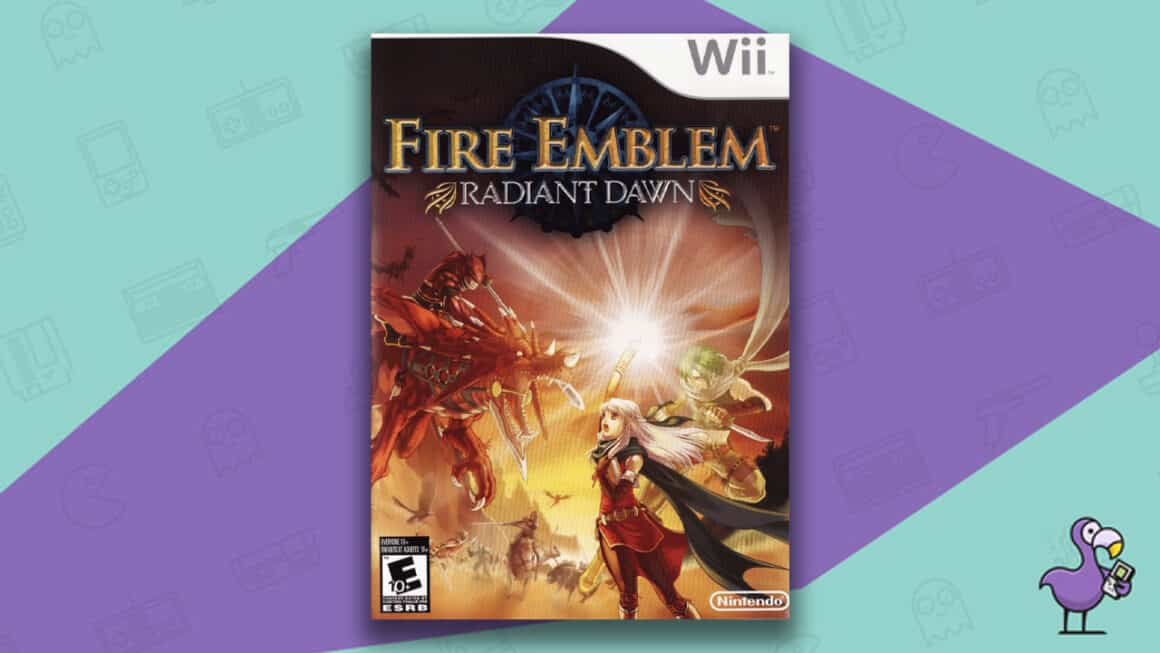 Best Nintendo Wii Games - Fire Emblem: Radiant Dawn game case