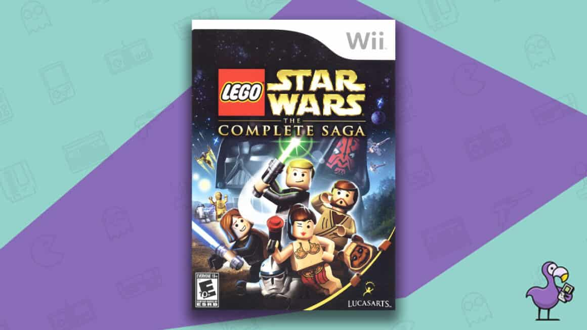 Best Nintendo Wii Games - LEGO Star Wars: The Complete Saga game case
