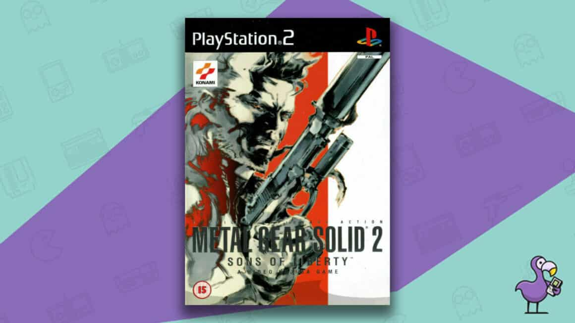 Best PS2 Games - Metal Gear Solid 2: Sons of Liberty game case cover art