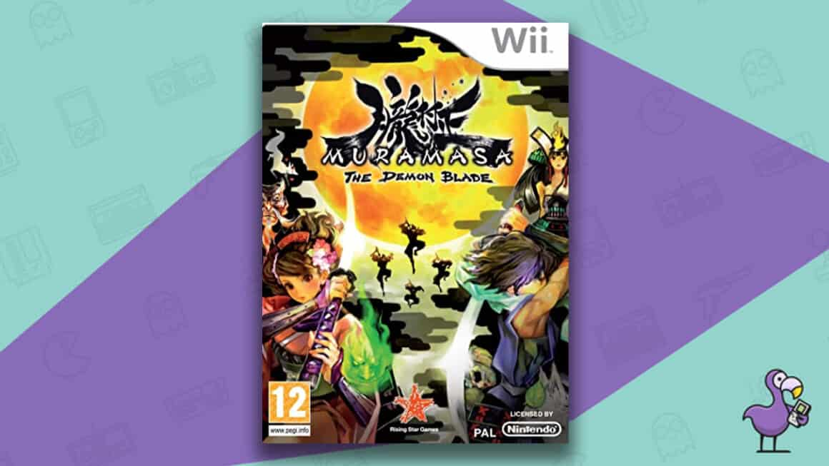 Best Nintendo Wii Games - Muramasa: The Demon Blade game case