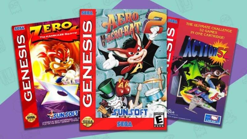 rare sega genesis games