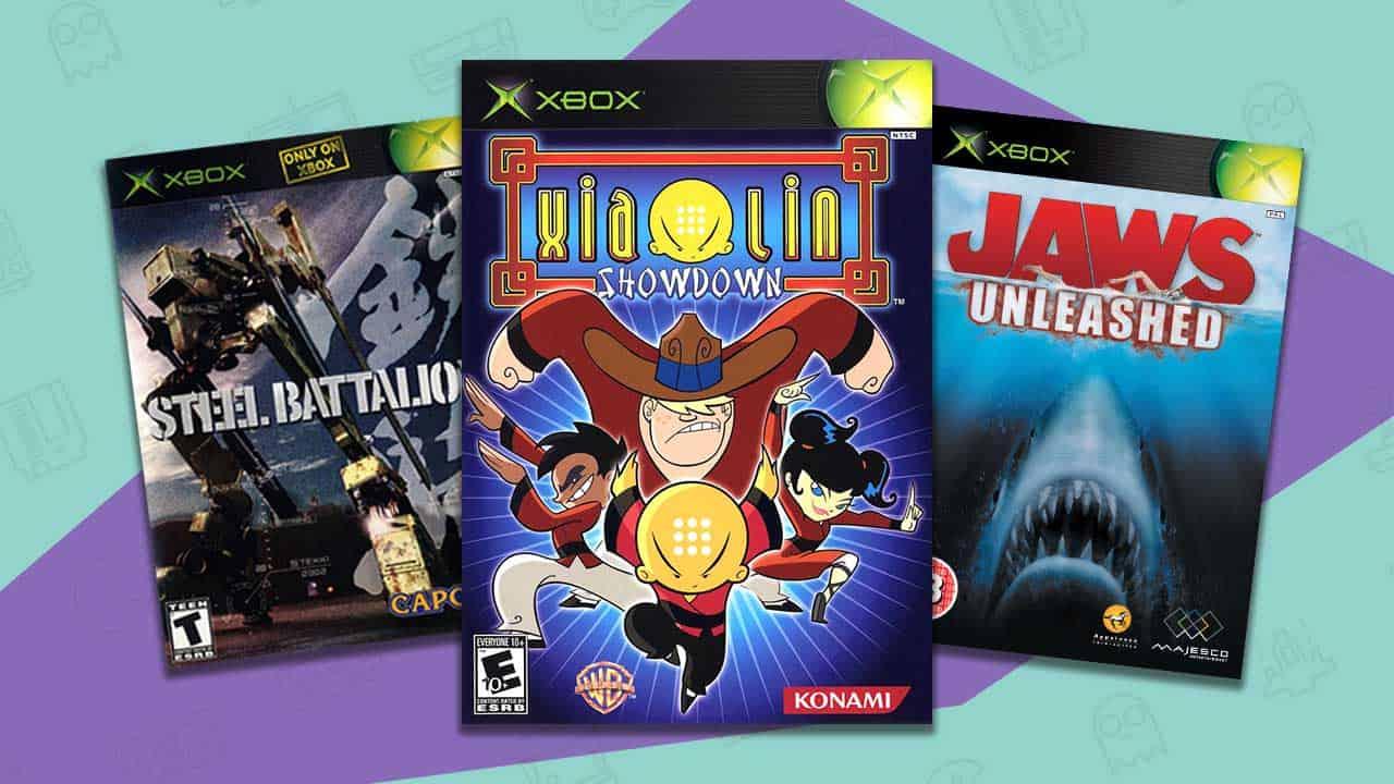 rare xbox games
