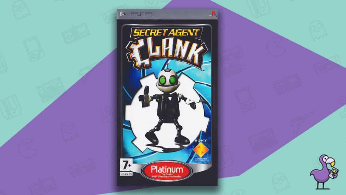 Best Ratchet & Clank Games - Secret Agent Clank Game Case PSP