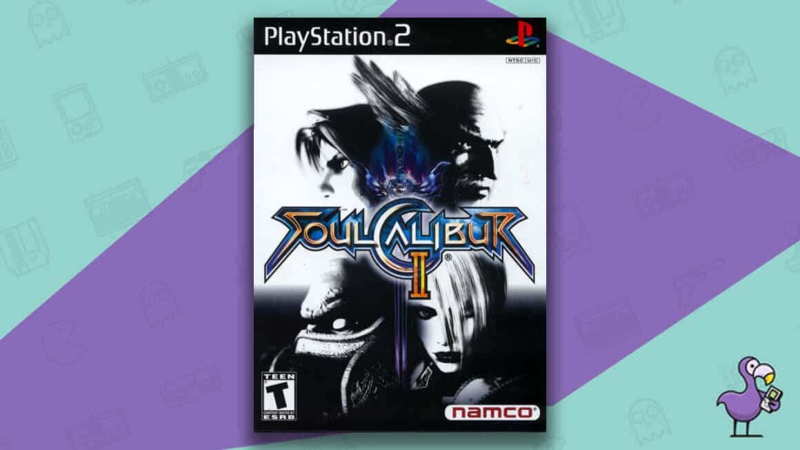 Best PS2 Games - SoulCalibur 2 game case cover art