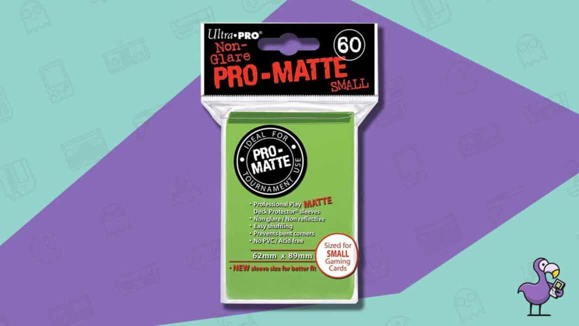 ultra pro pro matte trading card sleeves
