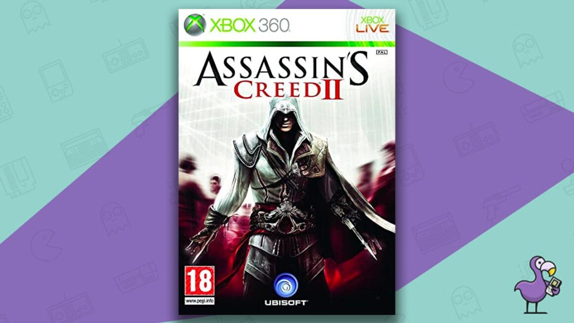 Best Xbox 360 games - Assassin's Creed II game case