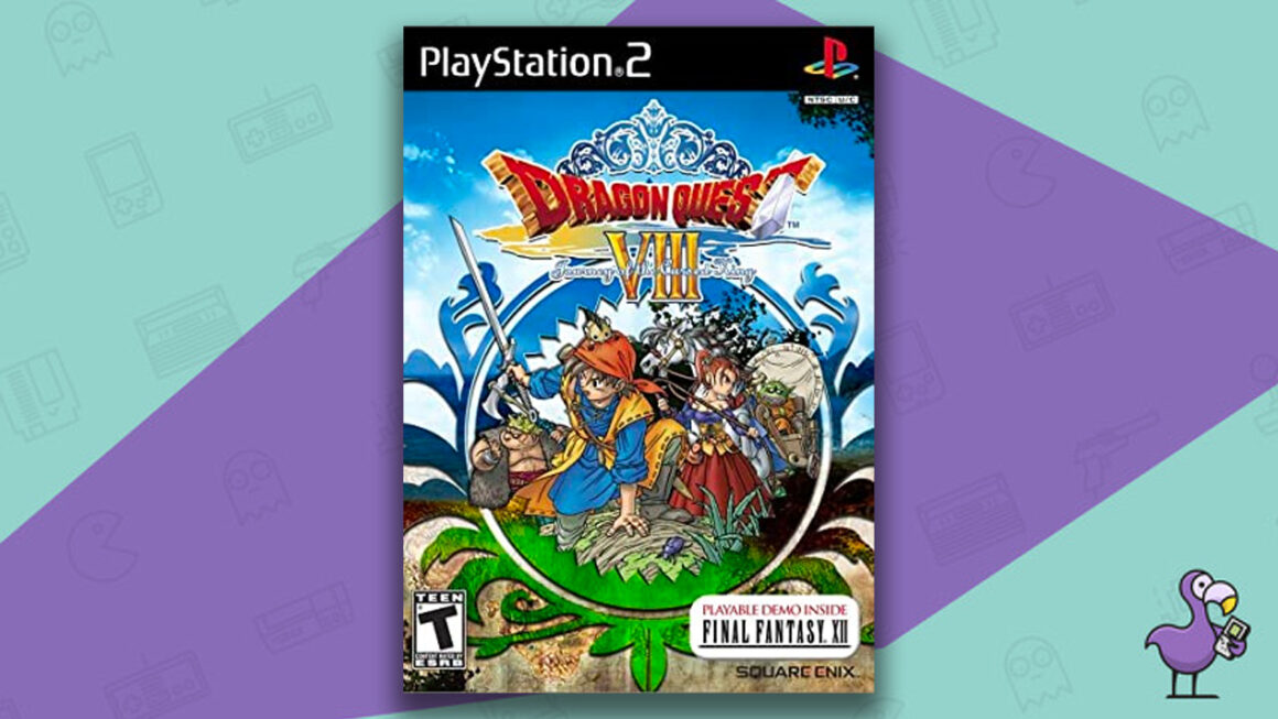 Best Dragon Quest Games - Dragon Quest VIII: Journey Of The Cursed King PS2 Game Case