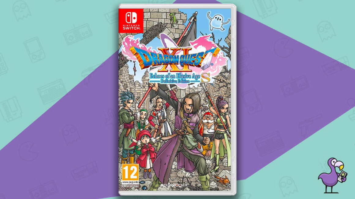 Best Dragon Quest Games - Dragon Quest XI: Echoes Of An Elusive Age S Definitive Edition Nintendo Switch Case
