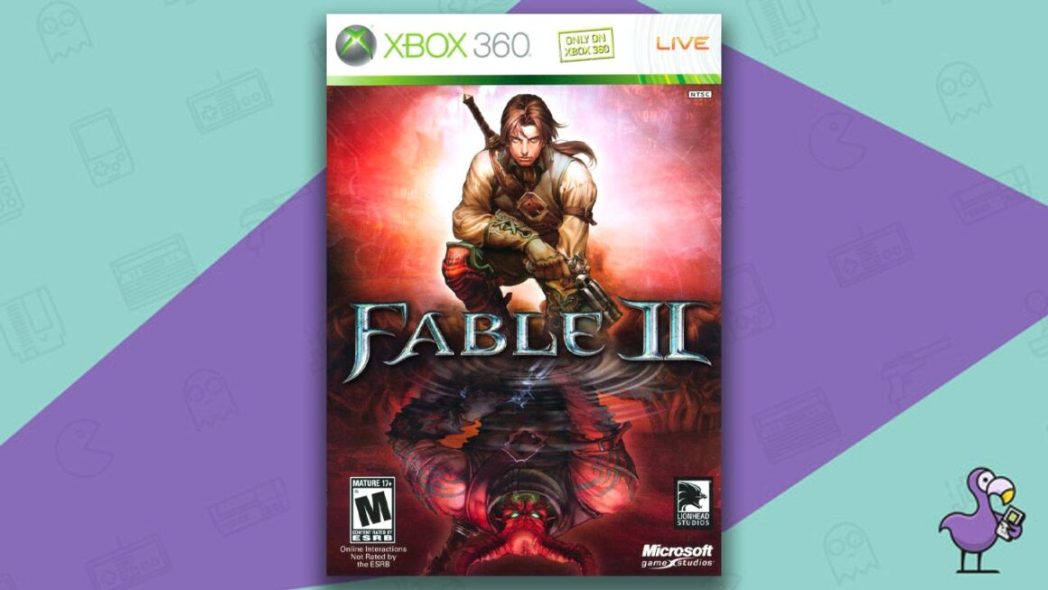 Best Xbox 360 games - Fable II game case Xbox 360