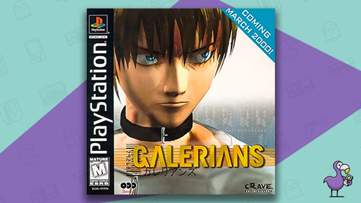 Best PS1 games - Galerians game case cover art