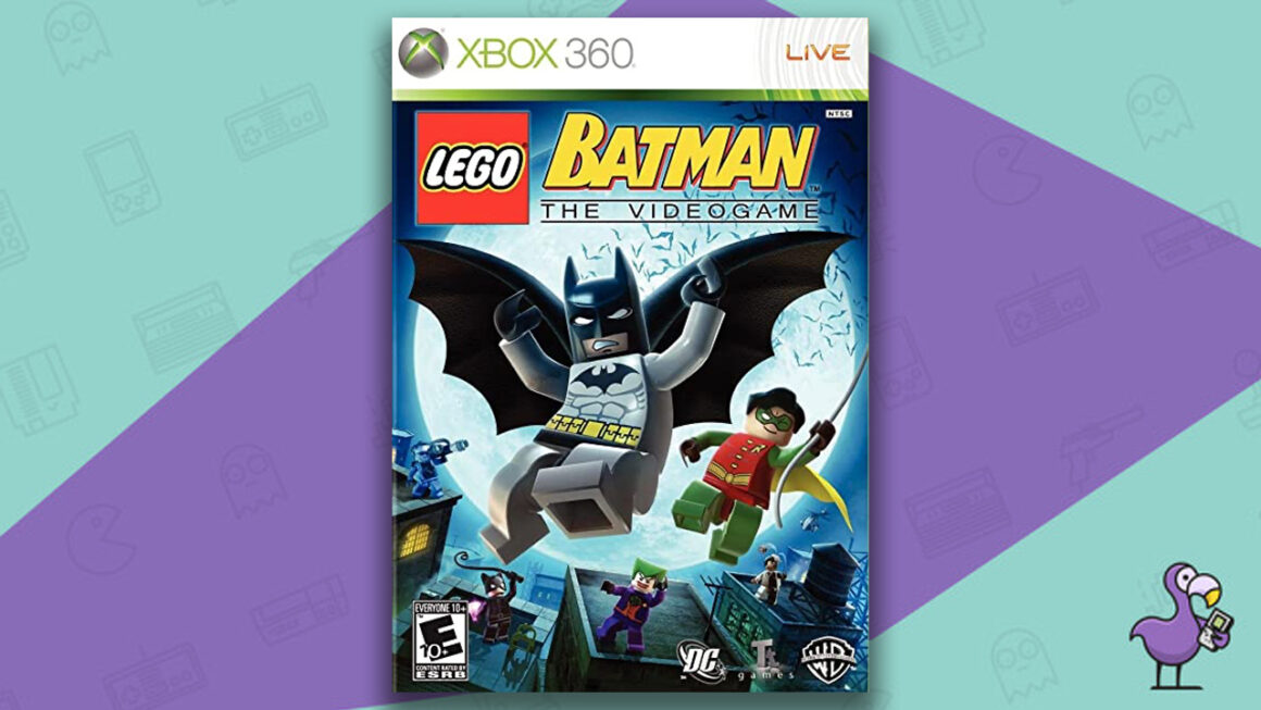 Best Lego Games - Lego Batman: The Videogame cover art Xbox 360
