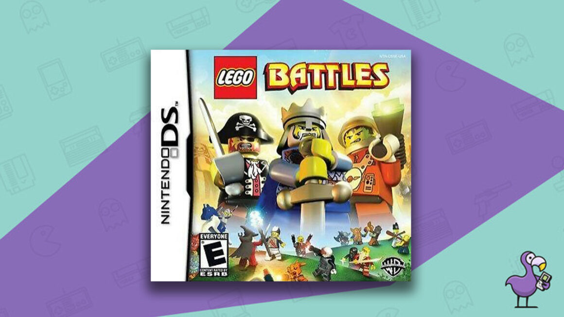 Best Lego Games - Lego Battles Nintendo DS Game Case