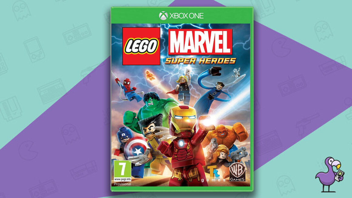 Best Lego Games - Lego Marvel Super Heroes Xbox One Game Case