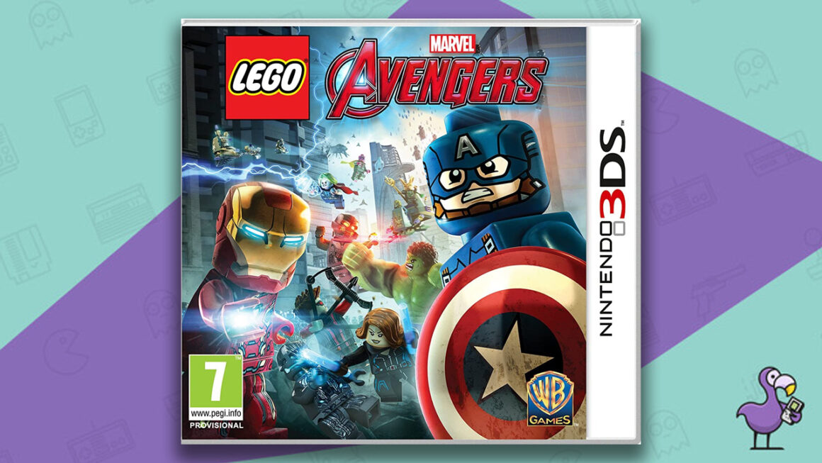 Best Lego Games - Lego Marvel Avengers Nintendo 3DS game case