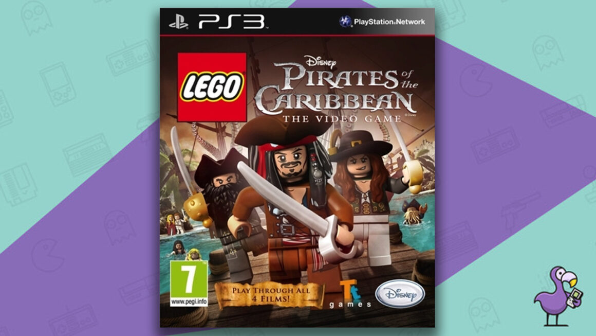 Best Lego Games - Lego Pirates of the Caribbean: The Video Game case PS3