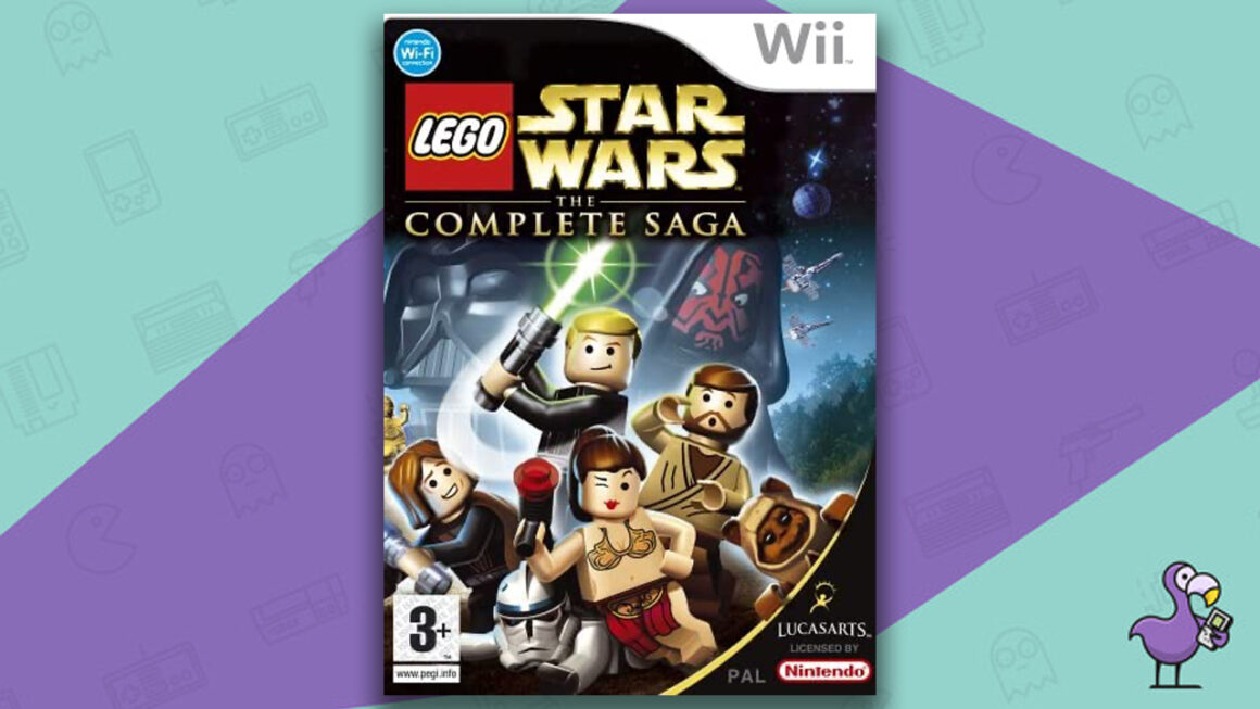 Best Lego Games - Lego Star Wars: The Complete Saga Game Case Nintendo Wii