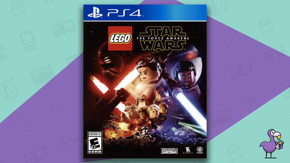 Best Lego Games - Lego Star Wars: The Force Awakens PS4 Game Case Cover Art