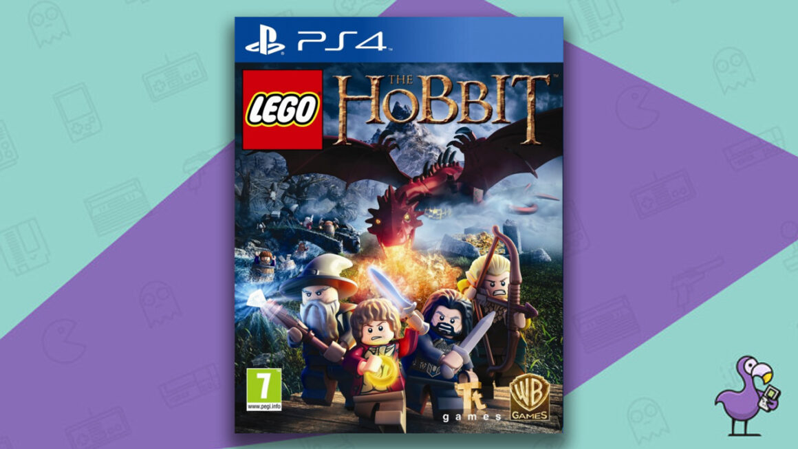 Best Lego Games - Lego The Hobbit PS4 game case