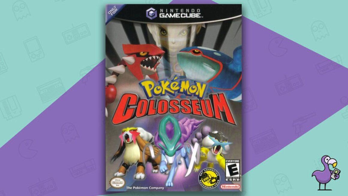 Best Gamecube RPGs - Pokemon Colosseum Game Case Nintendo GameCube.