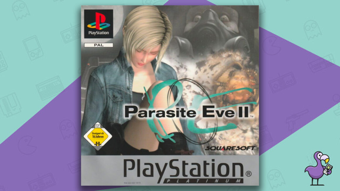 best PS1 horror games - Parasite Eve II Game case