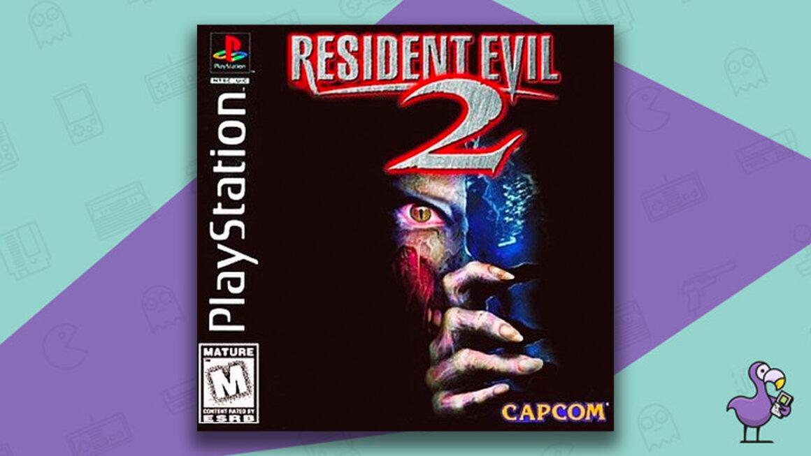 Best PS1 Games - Resident Evil 2 game case cover art