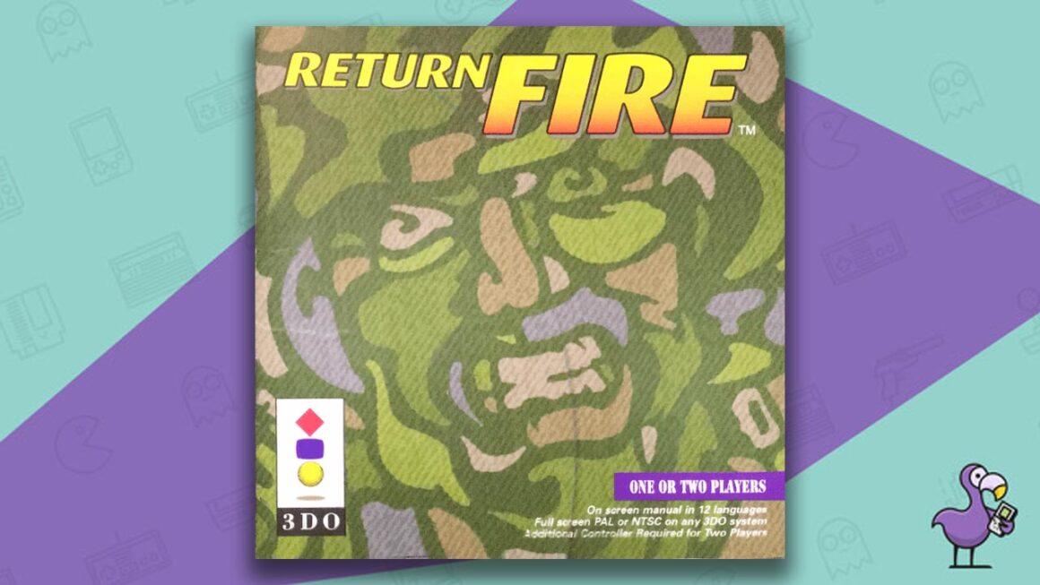 Best 3DO Games - Return Fire game case