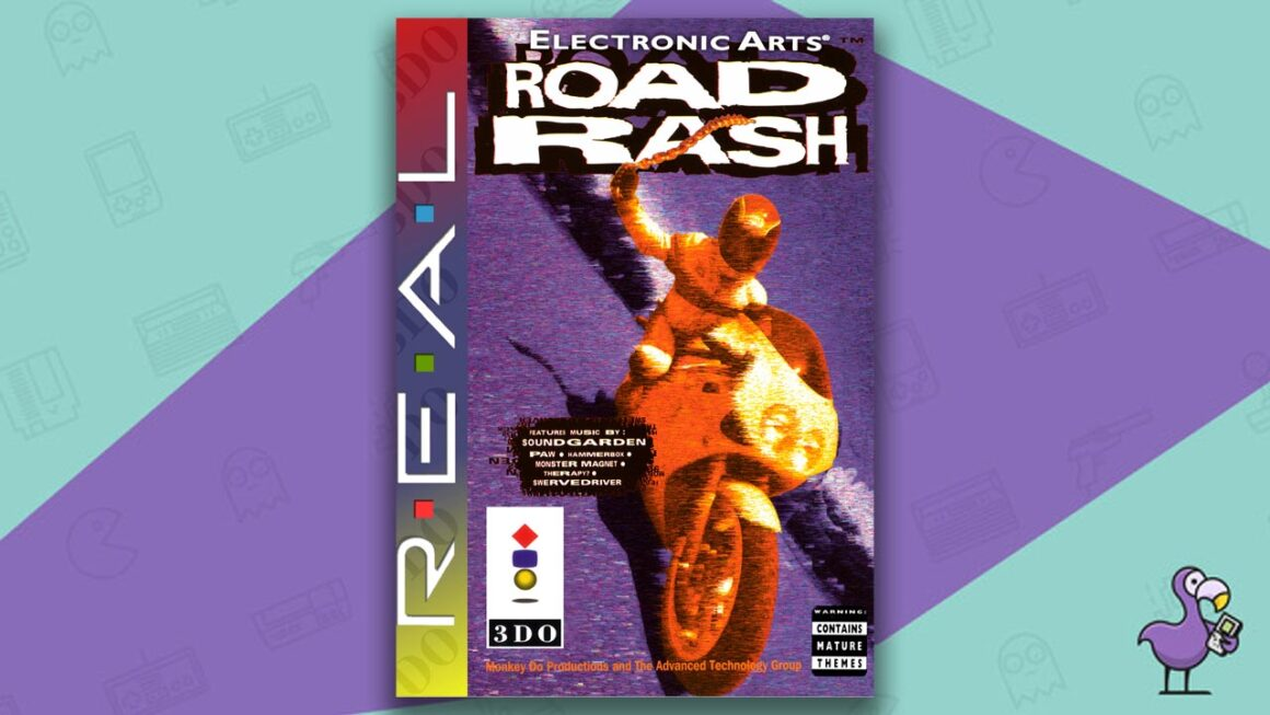 Best 3DO Games - Road Rash game case