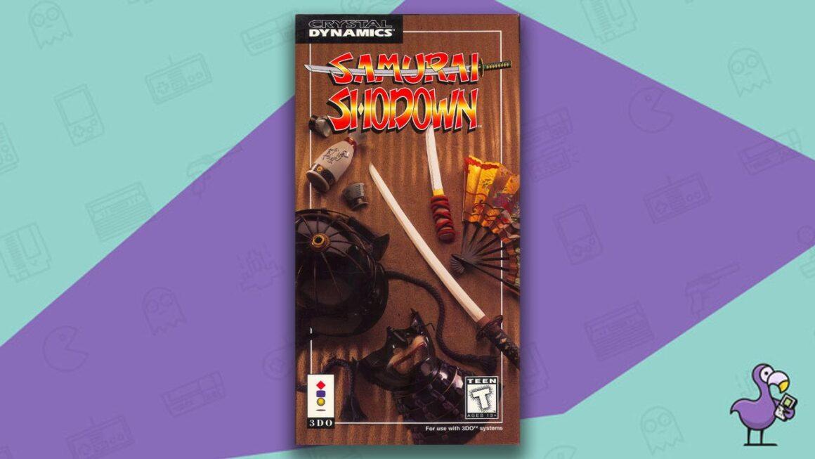 Best 3DO Games - Samurai Shodown game case