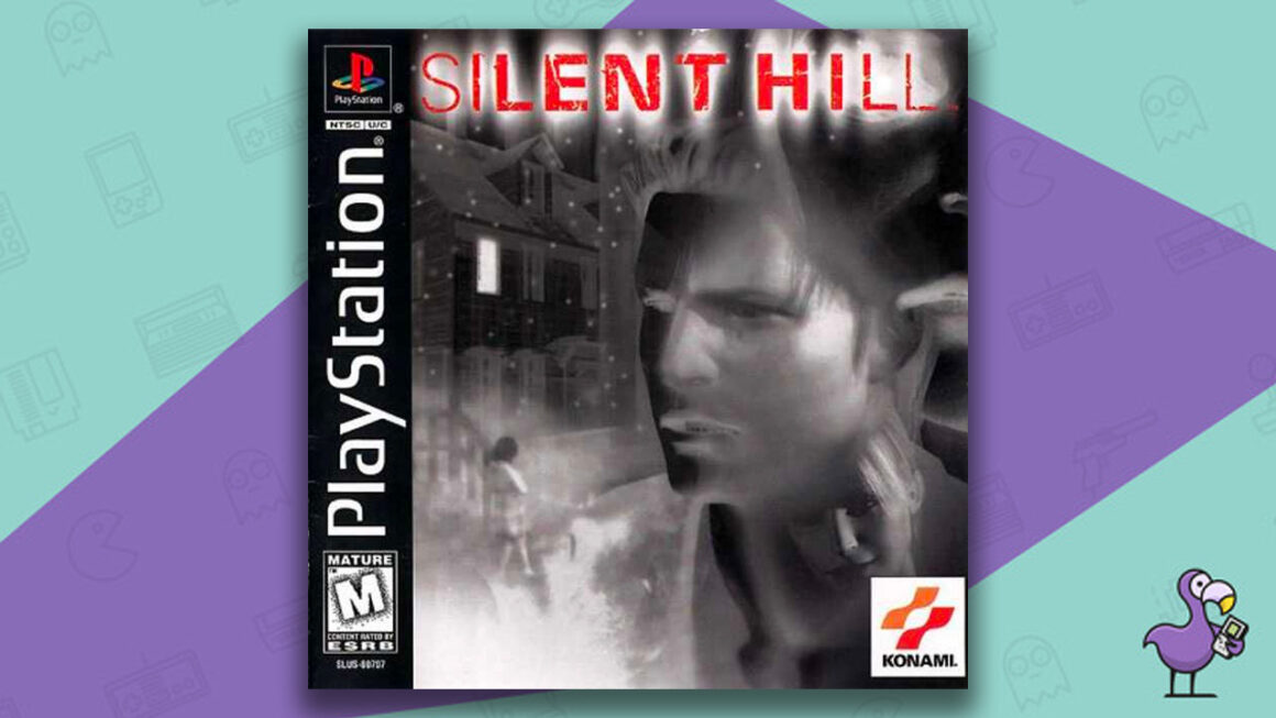 best PS1 horror games - Silent Hill game case