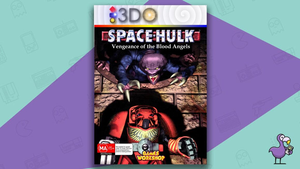 Best 3DO Games - Space Hulk: Vengeance of the Blood Angels game case