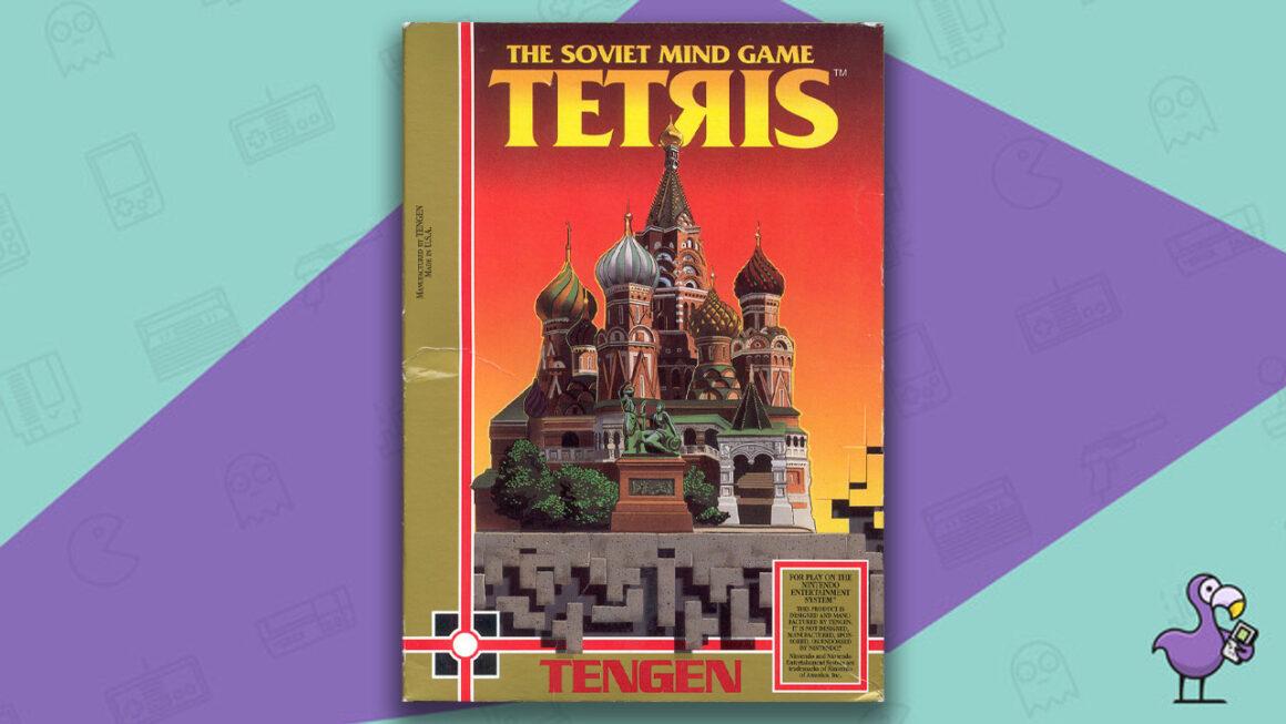 Best Tetris Games - Tetris NES game case