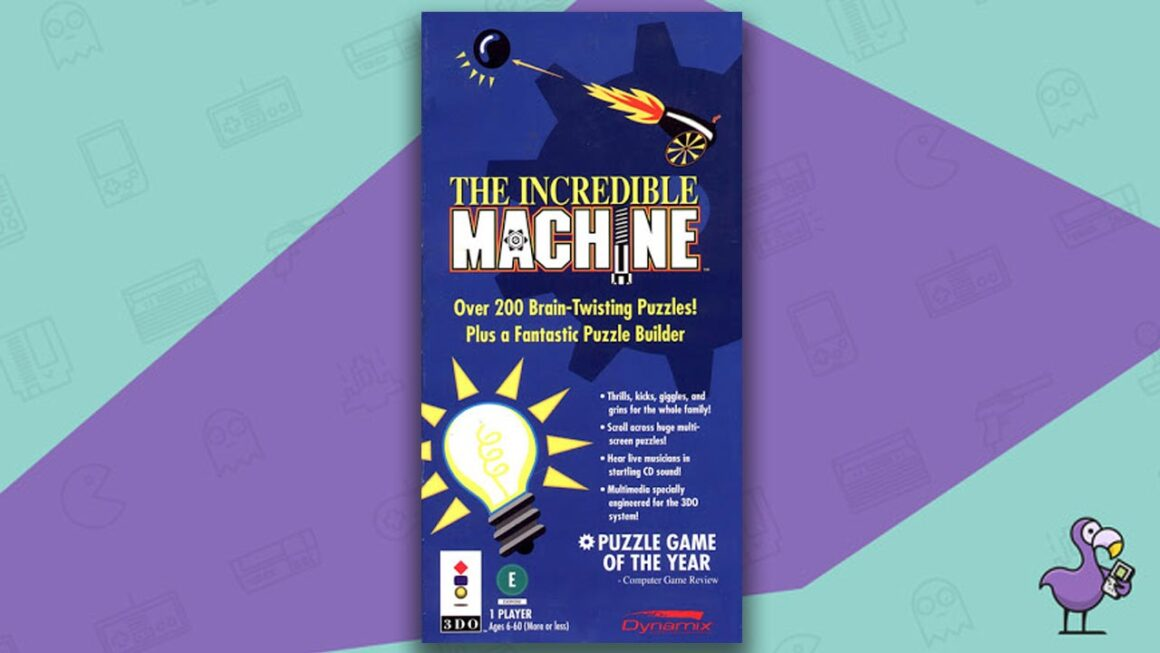 Best 3DO Games - The Incredible Machine game case