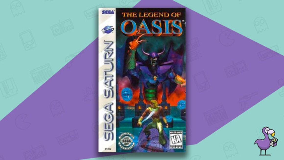 Best Sega Saturn RPGs - The Legend Of Oasis game case cover art