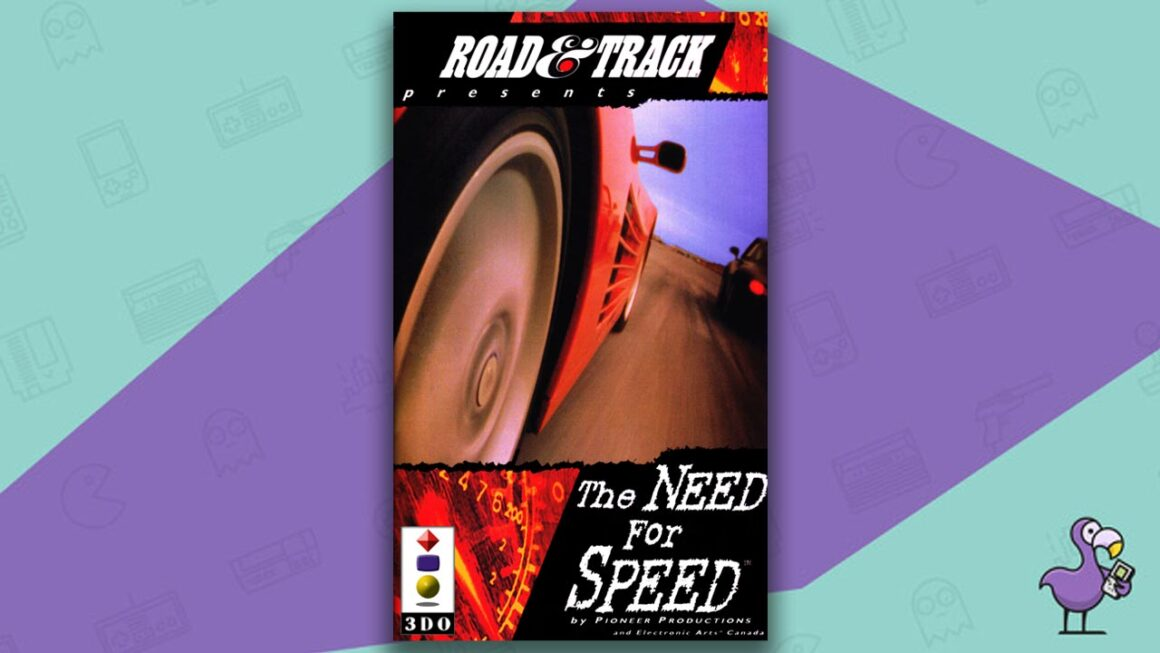 Best 3DO Games - The Need For Speed game case