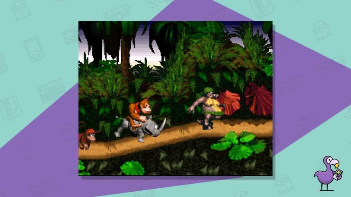 donkey kong country snes gameplay