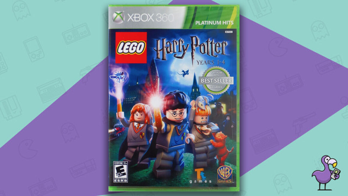 Best Lego Games - Lego Harry Potter: Years 1-4 Xbox 360 game case