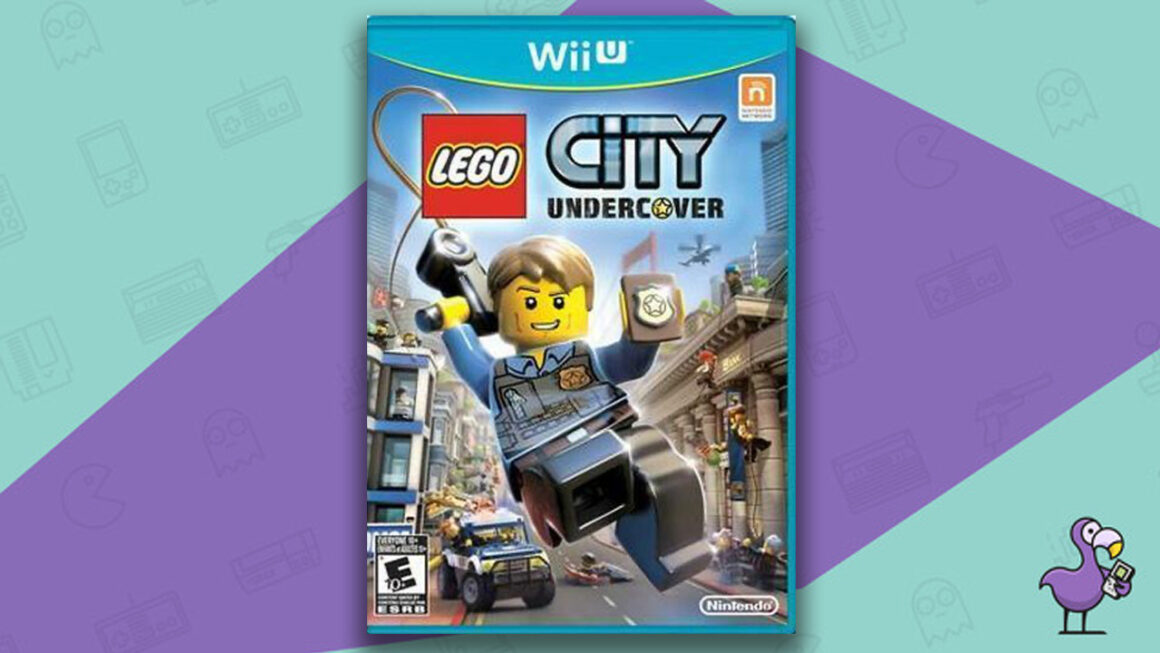 Best Lego Games - Lego City Undercover Game Case Nintendo Wii-U