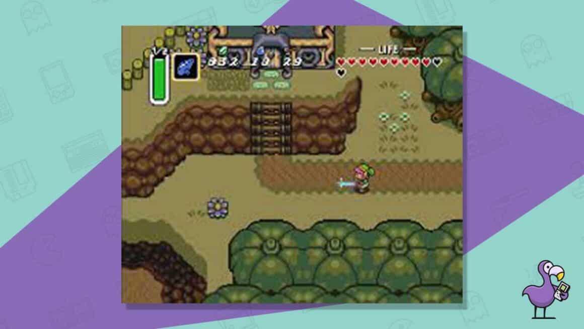 legend of zelda a link to the past snes gameplay