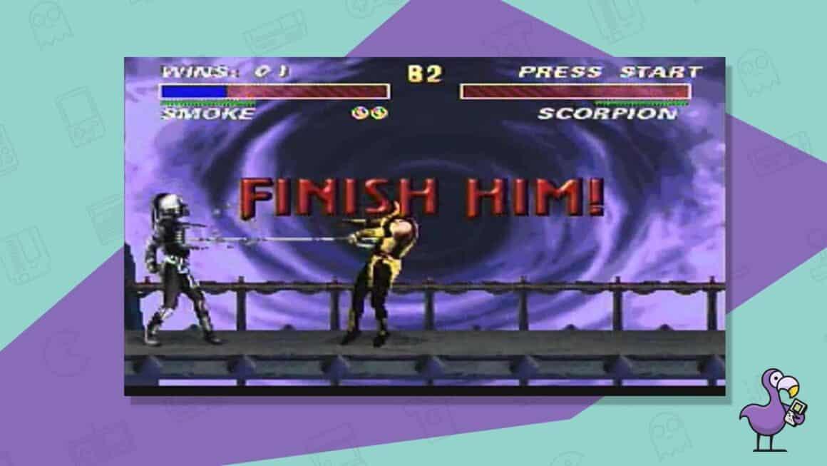 mortal kombat 3 snes gameplay
